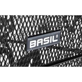Basil Cento Flower S Achterwiel Fietsmand, zwart
